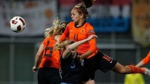 Lieke Martens, andalan di lini depan tim putri Belanda dan juga FCR Duisburg