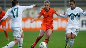 selain cantik, Anouk Hoogendijk juga andalan bagi tim Belanda