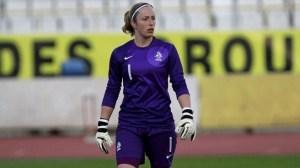Loes Geurts siap menyelamatkan Belanda dari gempuran tim putri AS