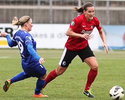 Frauenfußball-Bundesliga: SC Freiburg - VfL Sindelfingen, 16.03.2013