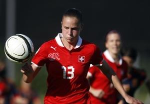 Ana Maria Crnogorcevic cetak 2 gol untuk kemenangan Swiss