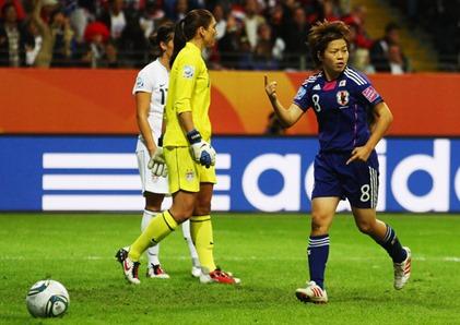 Hope Solo Aya Miyama Japan v USA FIFA Women OLT-QXubxgOl