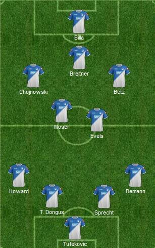Hoffenheim lineup